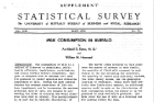 1930s: Department of Hygiene and Public Health researchers publish a disease survey on milk consumption in Buffalo.