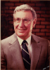 Harry Sultz, Acting Chair of the Department, then Social and Preventive Medicine, 1976 -1979, then Dean of the UB School of Health Related Professions. Author, with Kristina Young, of a leading textbook regarding health care organization in the US. Photo courtesy, University Archives.
