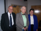 James Marshall, Saxon Graham, Jo Freudenheim at Saxon Graham lecture given by Dr. Marshall, 2011.