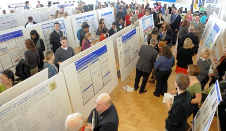 Poster presentation before Perry Lecture 2011.