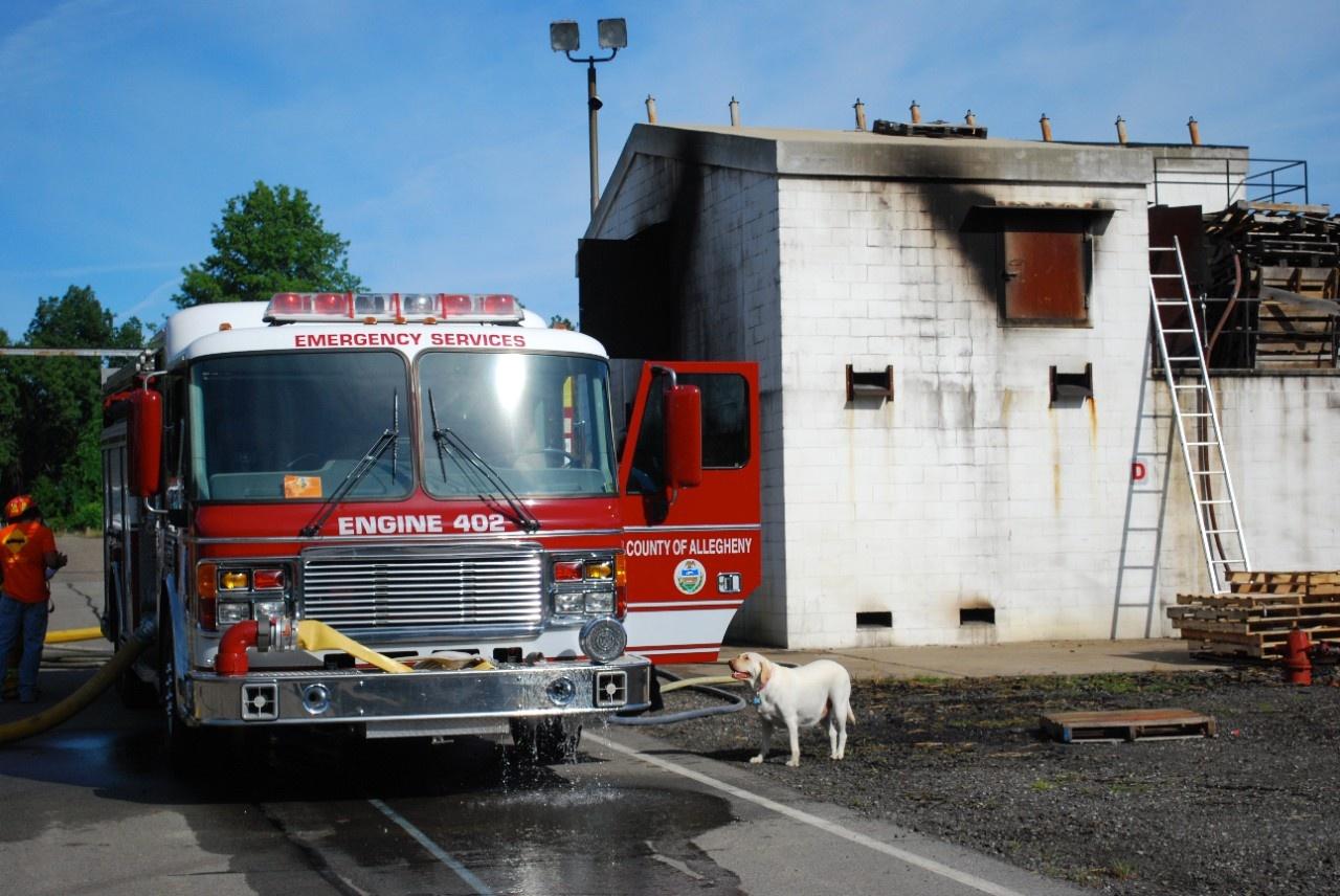live burn study 2011 - emergency responder human performance lab