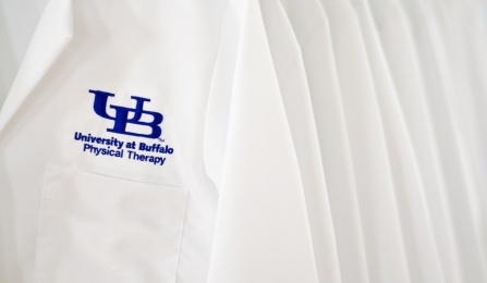 Physical therapy white coats.